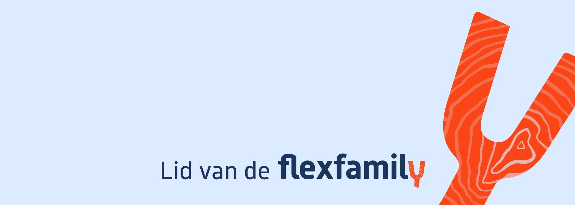 Wij zijn lid van de Flexfamily